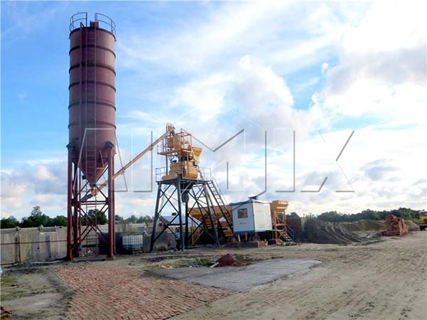 мини завод по производству бетона бу