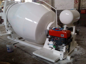 concrete mixer tank