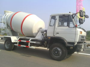 concrete mixer truck capacity
