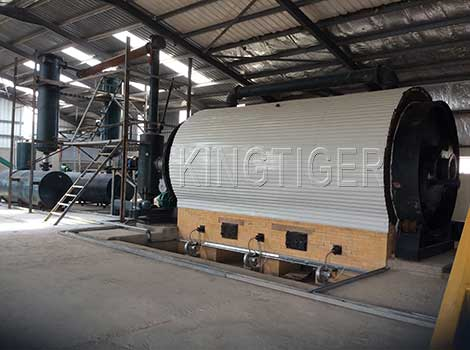 used tyre pyrolysis plant